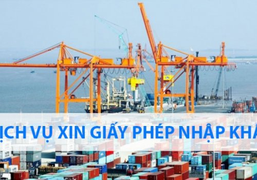 Dịch vụ xin giấy phép nhập khẩu uy tín tại TP.HCM